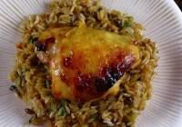 Honey-Sesame Glazed Chicken Thighs   Miss in the Kitchen
