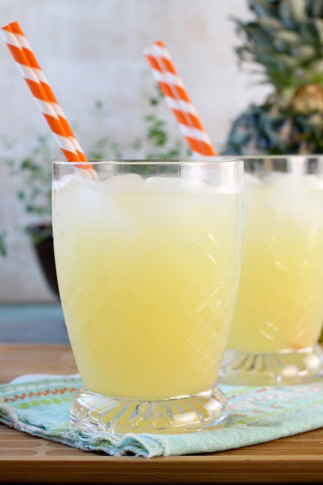 Delicious pineapple lemonade recipe