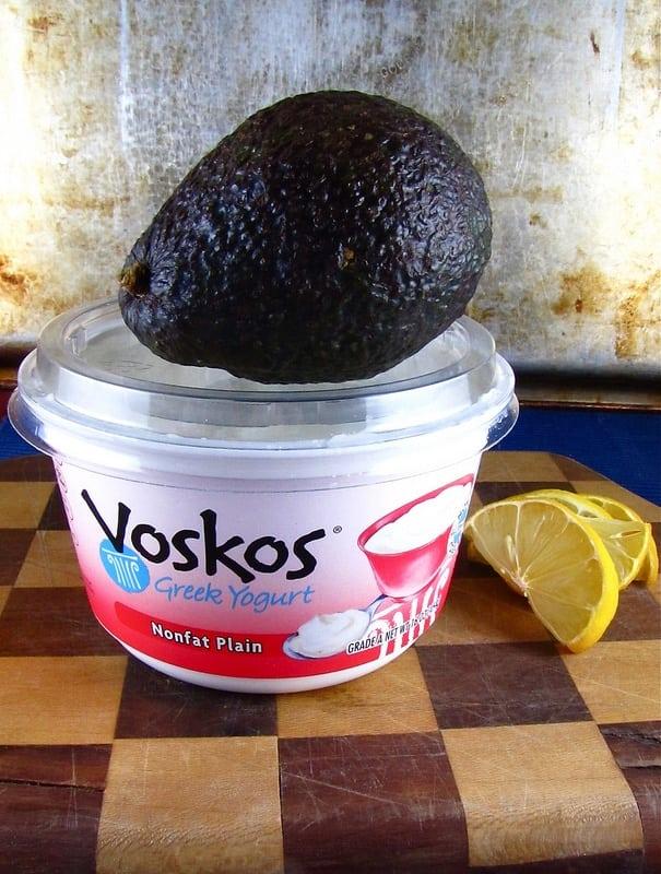 Avocado Crema with Voskos Yogurt   Miss in the Kitchen