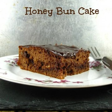 Chocolate Honey Bun Cake - Miss in the Kitchen