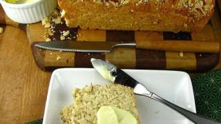 Browned Butter-Ranch Beer Bread