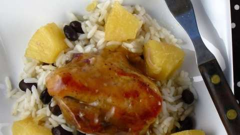 Pineapple Pork Loin - Miss in the Kitchen