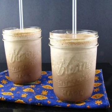Peanut Butter & Chocolate Iced Coffee - Miss in the Kitchen