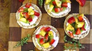 Light and Easy Fruit Tarts