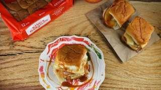 Creamy Caramel Apple Sliders