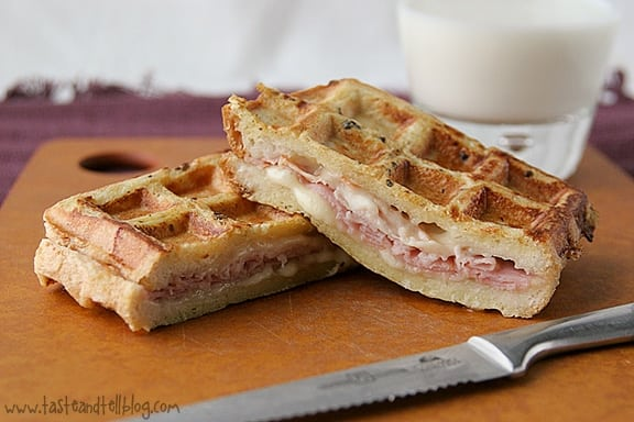 Monte-Cristo-Waffle-Wiches-recipe-taste-and-tell-1