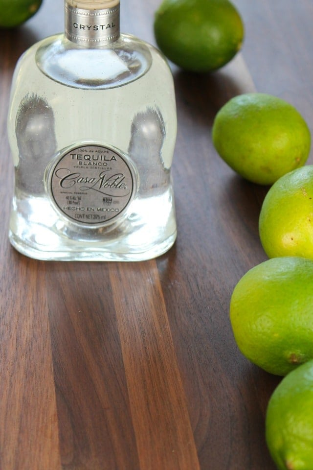 Casa Noble Tequila and Limes