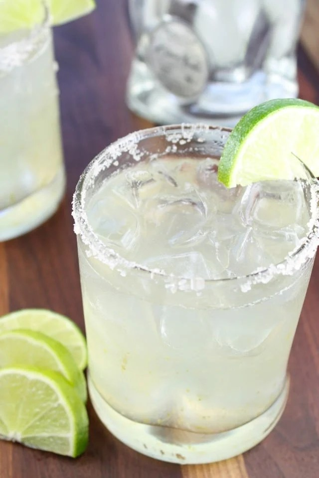 Classic Margaritas with Casa Noble Crystal from Miss in the Kitchen