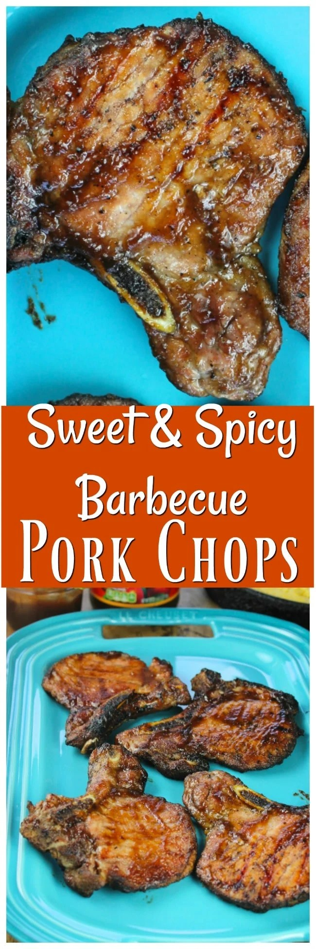 Sweet-and-Spicy-Barbecue-Pork-Chops