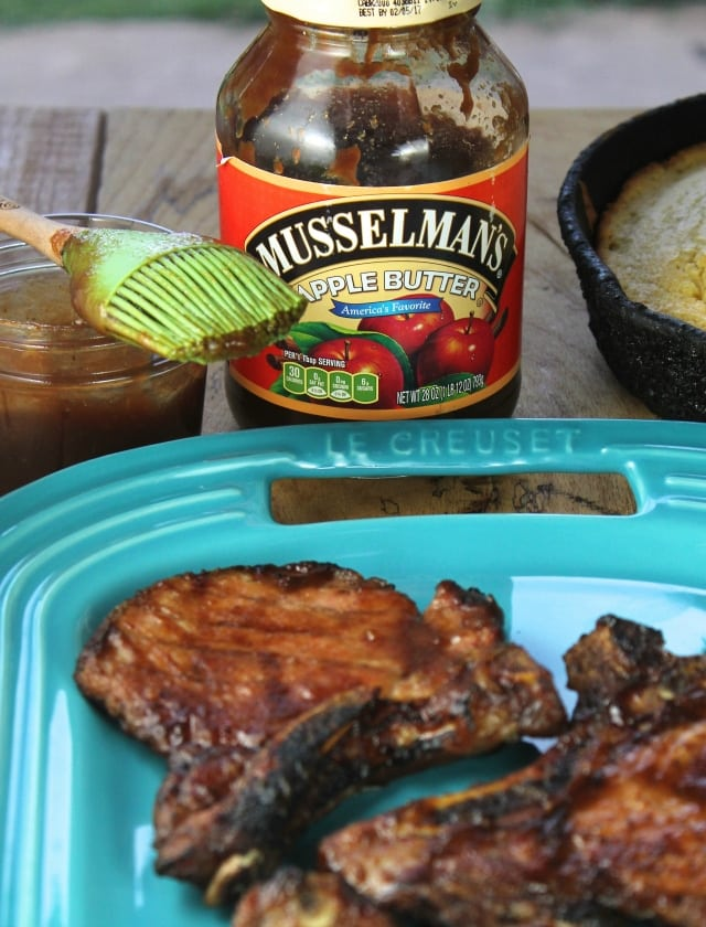 Sweet and Spicy Barbecue with Musselman's Apple Butter