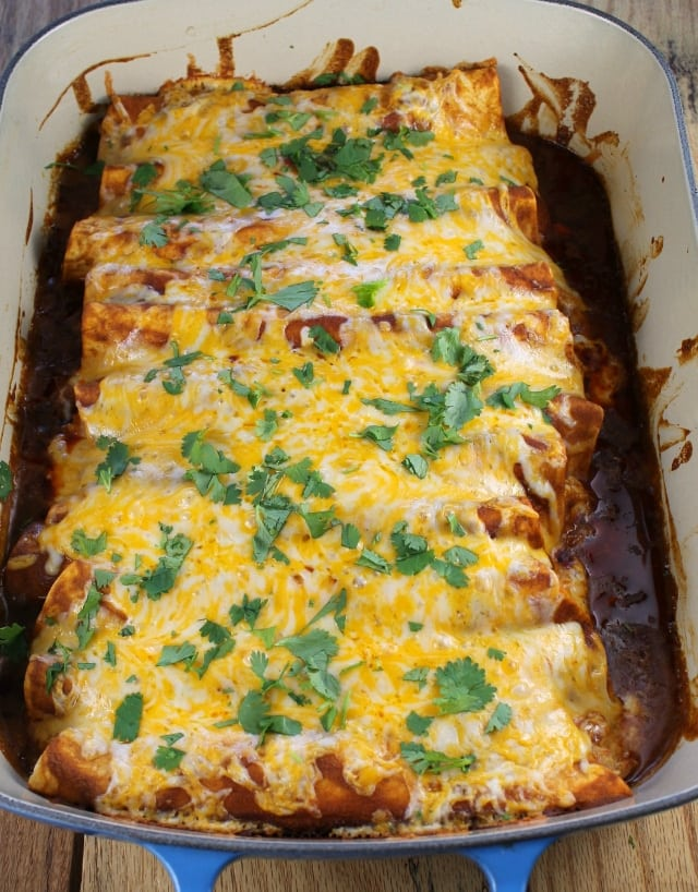Chicken Enchiladas  Miss in the Kitchen