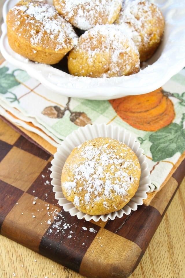 The Best Biscoff Pumpkin Muffins from MIss in the Kitchen