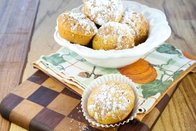 The Biscoff Pumpkin Muffins #recipe