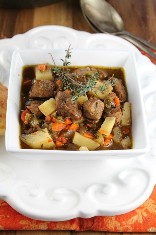 Balsamic Beef Stew From missinthekitchen.com