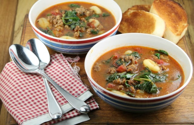 Italian Gnocchi Soup | Miss in the Kitchen