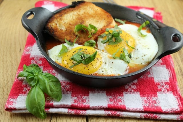 Tomato and Egg Skillet #recipe