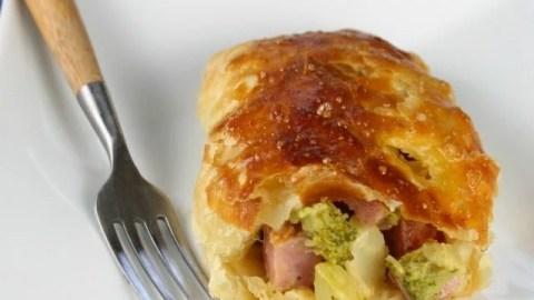 Broccoli, Cheese & Ham Pockets