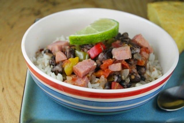 Ham, Beans and Rice Recipe