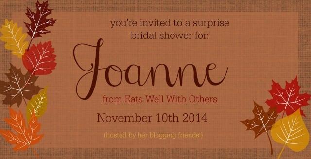 Joanne's Shower Graphic