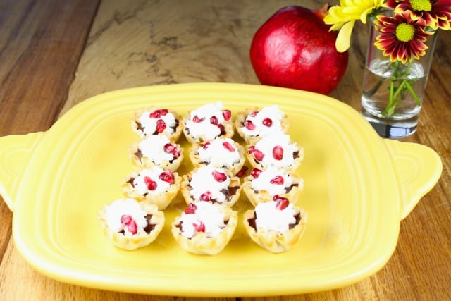 Pomegranate Chocolate Tarts Recipe  Miss in the Kitchen