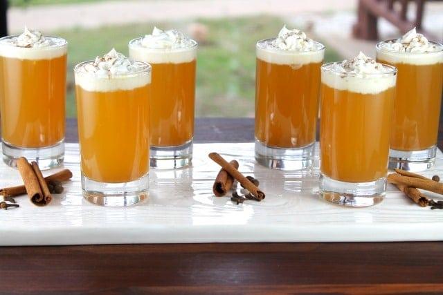 Warm Apple Pie Cocktails Recipe