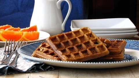 Brown Sugar-Cinnamon Waffles
