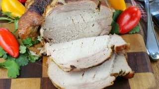 Apple Butter Braised Pork Loin