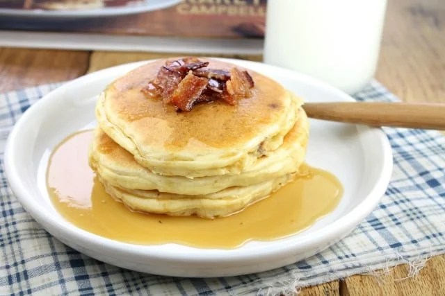Bacon Pancakes from missinthekitchen