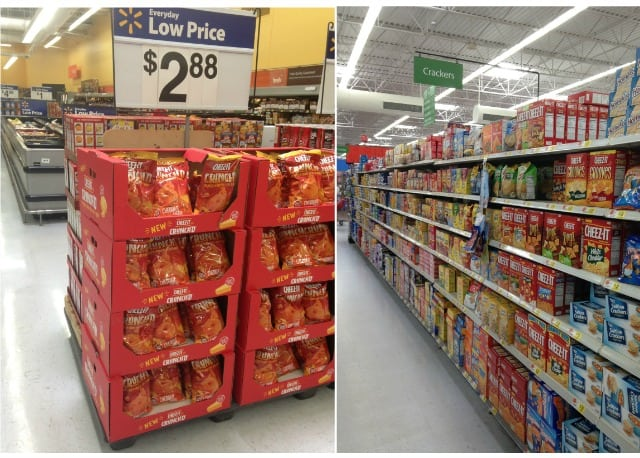 Cheez-It @ Walmart