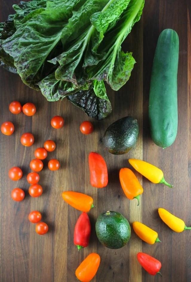 Vegetables for Salad Kebabs missinthekitchen.com