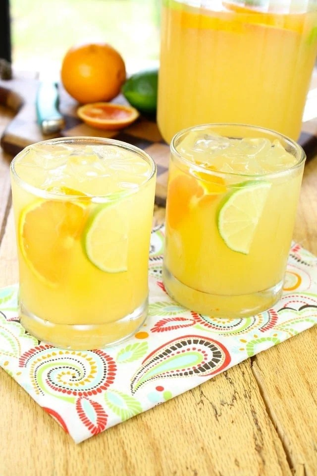 Zesty Party Sippers Recipe from missinthekitchen