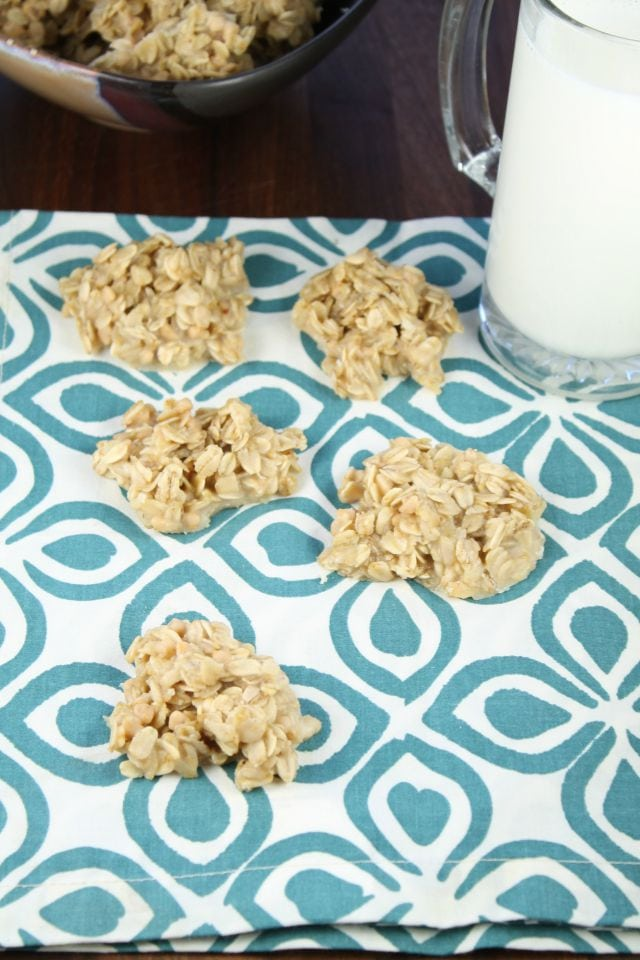 White Chocolate No Bake Cookies Recipe Miss in the Kitchen