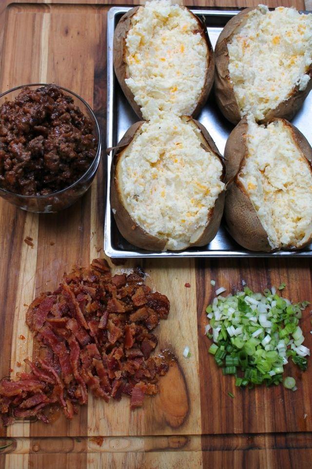 Bacon Cheese Burger Potatoes