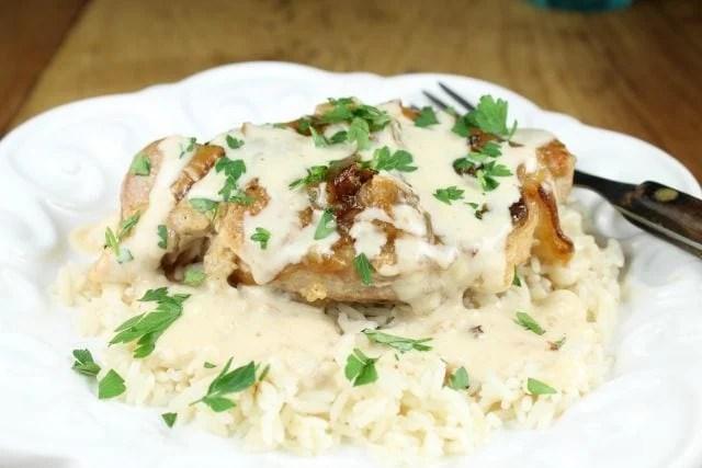 recipe: sour cream gravy pork chops [15]
