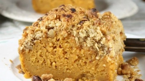 Sweet Potato Bars with Streusel Topping