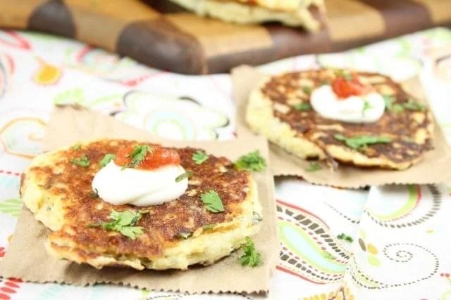 Tex Mex Potato Pancakes :: MissintheKitchen