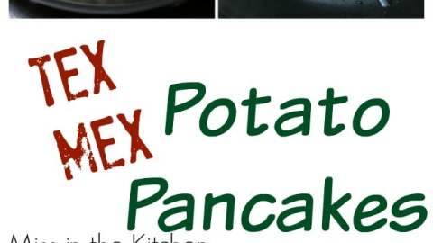 Tex- Mex Potato Pancakes