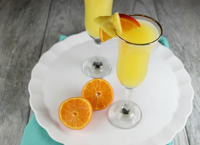 Recipe for Pineapple Mimosa ~ MissintheKitchen