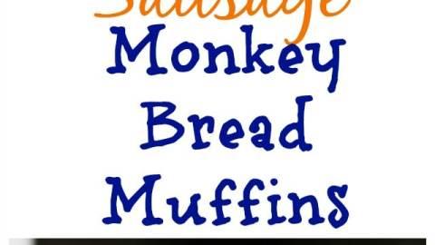 Sausage Monkey Bread Muffins