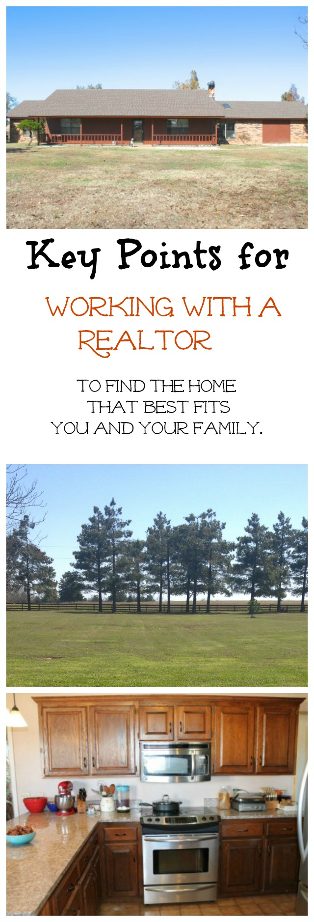 Keypoints on working with a REALTOR to find the best home to fit you and your family. From Miss in the Kitchen #sponsored