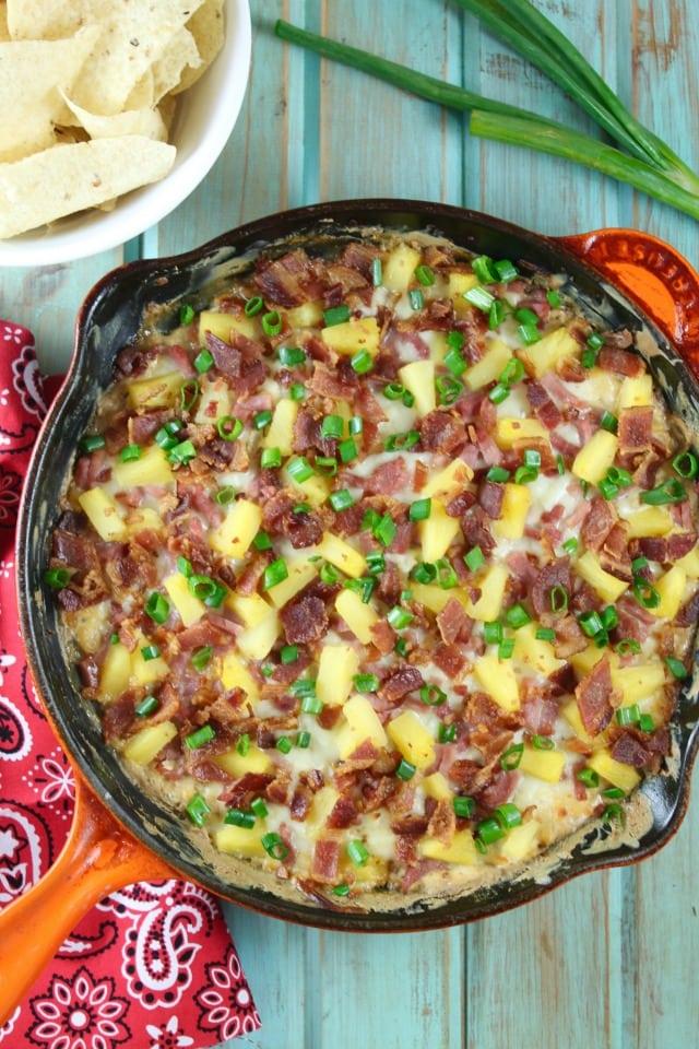 Hawaiian Onion Dip Recipe from MissintheKitchen.com
