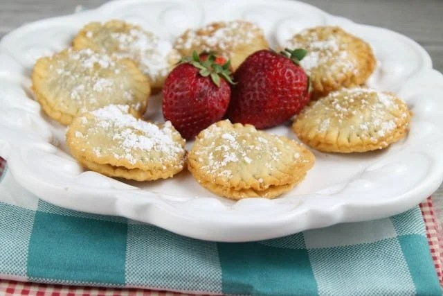 Fried Nutella Hand Pies Recipe found at missinthekitchen.com