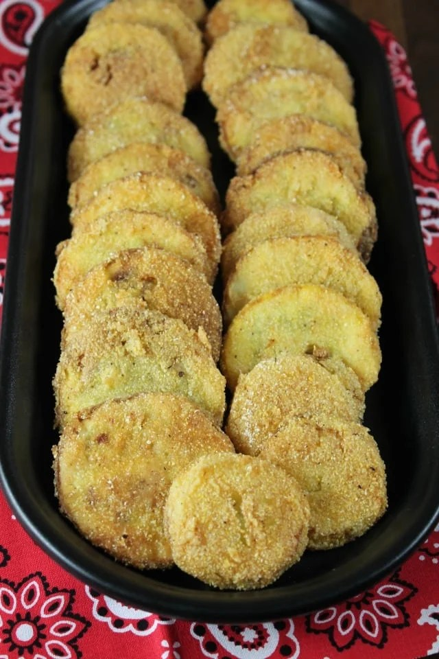 Fried Squash Recipe from MissintheKitchen.com