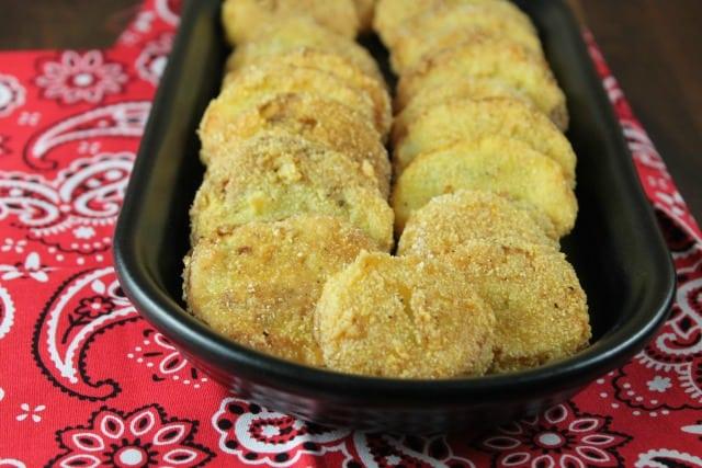 Fried Squash Recipe from MissintheKitchen