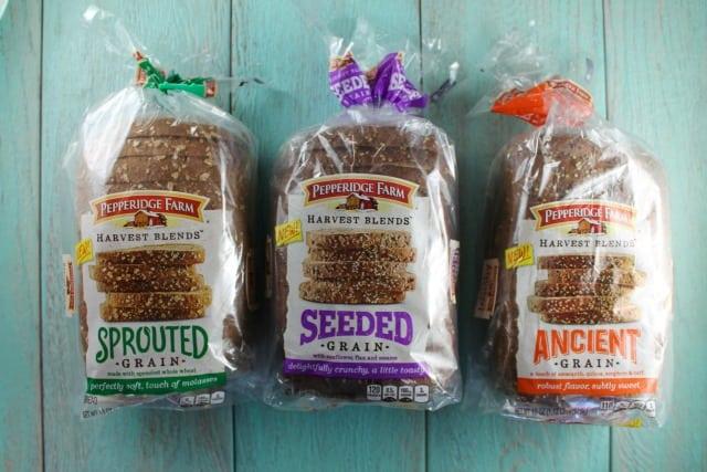 Pepperidge Farm Harvest Blend Bread for Salmon Toast Recipes 2 Ways from MissintheKitchen.com