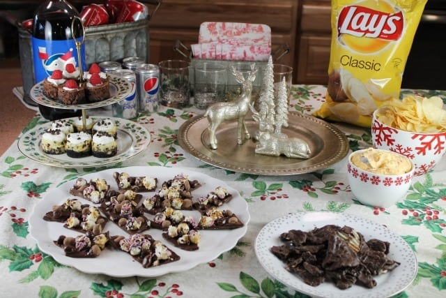 White Elephant Charity Exchange Party with Frito Lay from MissintheKitchen.com #ad