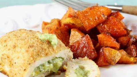 Barber Foods Stuffed Chicken Sweet Potato Sheet Pan Meal