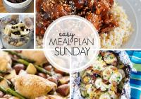 Easy Meal Plan Sunday #99 MissintheKitchen.com