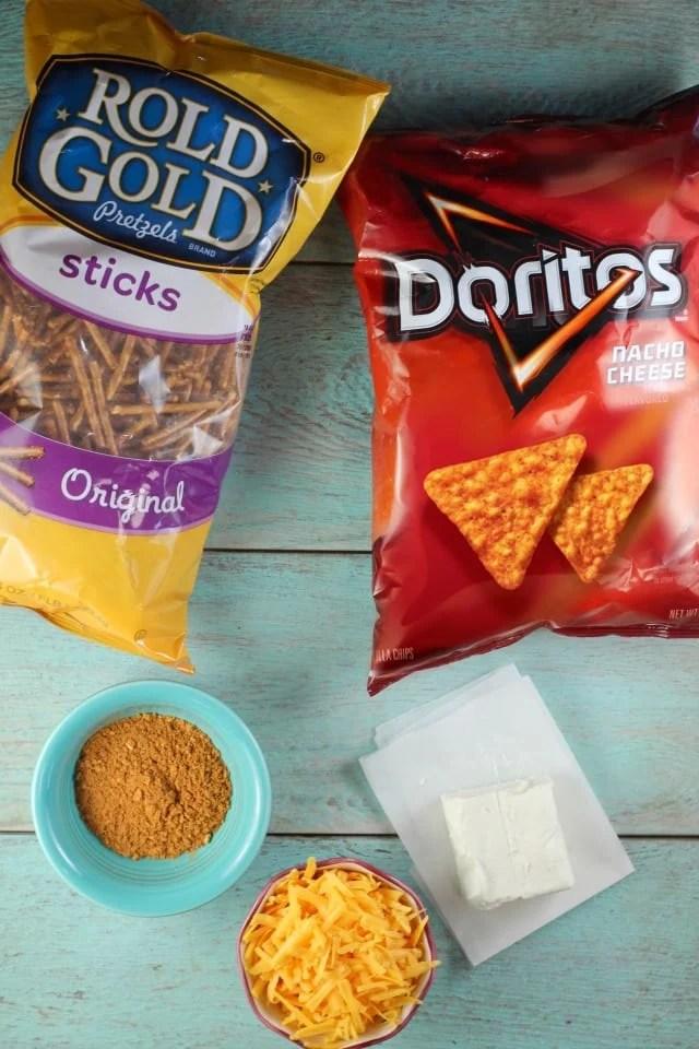 Mini Doritos Cheese Balls Appetizer ~ MissintheKitchen.com #ad #SayYesToSummer