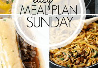Easy Meal Plan Sunday {97}